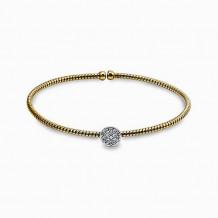 Simon G. 18k White Gold Diamond Bangle Bracelet - NB131-Y