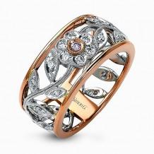 Simon G. 18k White Gold Diamond Right Hand Ring - MR1000-R