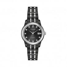 Citizen Corso Ladies White Stainless Steel Watch - EW2398-58E