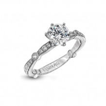 Simon G. 18k White Gold Engagement Ring - MR1546
