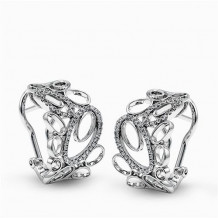 Simon G. 18k White Gold Diamond Earrings - ME2258
