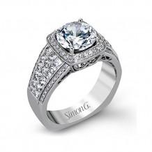 Simon G. 18k White Gold Diamond Ring - MR2515