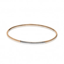 Simon G. 18k Rose Gold Diamond Bangle Bracelet - LB2017-R
