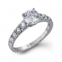 Simon G. 18k White Gold Engagement Ring - MR2548