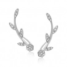 Simon G. 18k White Gold Diamond Earrings - LE2104