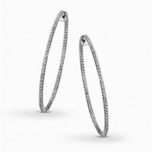 Simon G. 18k White Gold Diamond Earrings - ME1407