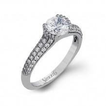 Simon G. 18k White Gold Engagement Ring - MR2503
