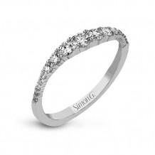 Simon G. 18k White Gold Diamond Right Hand Ring - LR1091
