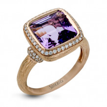 Simon G. 18k Rose Gold Diamond Ring - MR2464