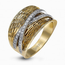Simon G. 18k Two-Tone Gold Diamond Ring - LP2103