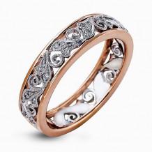 Simon G. 18k White Gold Diamond Ring - MR2354-R