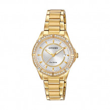 Citizen POV Ladies Yellow Stainless Steel Watch - FE6062-56A