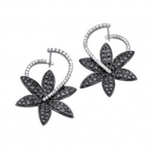 Simon G. 18k White Gold Diamond Earrings - TE206