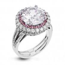 Simon G. 18k White Gold Diamond Engagement Ring - MR2641