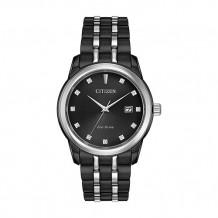 Citizen Corso Men's White Stainless Steel Watch - BM7348-53E