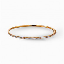 Simon G. 18k Yellow Gold Diamond Bangle Bracelet - MB1432-Y