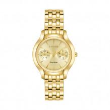 Citizen Chandler Ladies Yellow Stainless Steel Watch - FD4012-51P