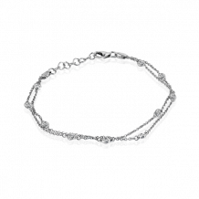 Simon G. 18k White Gold Diamond Bracelet - LB2058