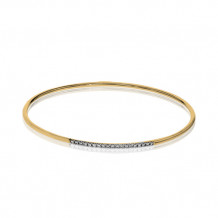 Simon G. 18k Yellow  Gold Diamond Bangle Bracelet - LB2017-Y