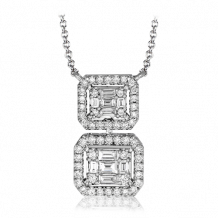 Simon G. 18k White Gold Diamond Pendant - LP4442
