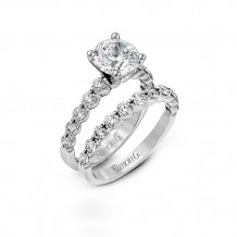 Simon G. 18k White Gold Engagement Ring - MR1907