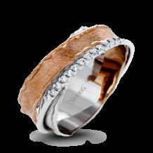 Simon G. 18k Two-Tone Gold Diamond Ring - LP4345