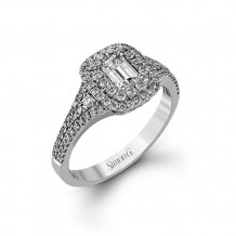 Simon G. 18k White Gold Engagement Ring - MR2274
