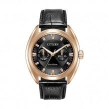 Citizen Paradex Men's Rose Stainless Steel Watch - BU4013-07H