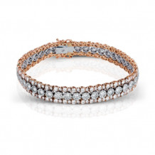 Simon G. Two-Tone 18k Gold and Diamond Bracelet - LB2064