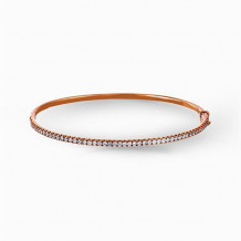 Simon G. 18k Rose Gold Diamond Bangle Bracelet - MB1432-R