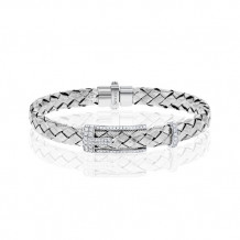 Simon G. 18k White Gold Diamond Bracelet - LB2085