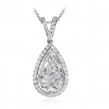Simon G. 18k White Gold Diamond Pendant - PP150