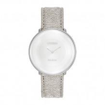 Limited Edition Citizen L Ambiluna White Stainless Steel Women's Watch - EG7000_01A