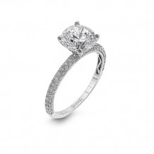 Simon G. 18k White Gold Engagement Ring - MR1577-A