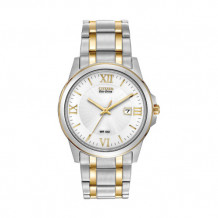 Citizens Eco Drive Two-Tone Mens Bracelet - BM7264-51A