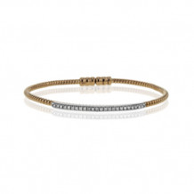Simon G. 18k Rose Gold Diamond Bangle Bracelet - LB2151-R