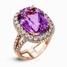 Simon G. 18k White Gold Diamond Ring - MR2469